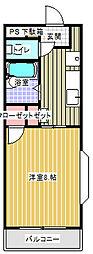 ヴィラージュ向ヶ丘[1階]の間取り