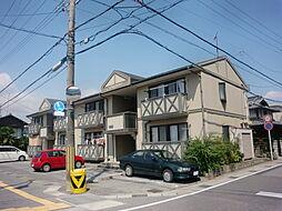 滋賀県長浜市南高田町の賃貸アパートの外観