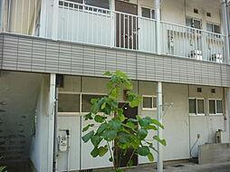 山田アパート[101号室]の外観