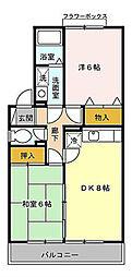 神奈川県川崎市宮前区菅生5丁目の賃貸アパートの間取り