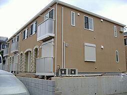 千葉県柏市東中新宿2丁目の賃貸アパートの外観