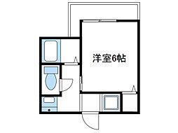 神奈川県座間市入谷5丁目の賃貸アパートの間取り