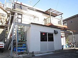 神奈川県横浜市港北区新羽町の賃貸アパートの外観