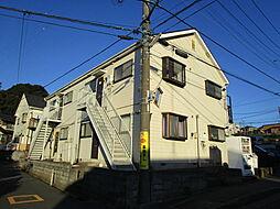 神奈川県海老名市柏ケ谷の賃貸アパートの外観