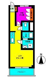 富士見台ファミリーコーポ[3号室]の間取り