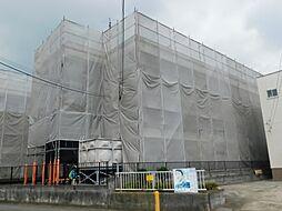 神奈川県厚木市愛名の賃貸マンションの外観