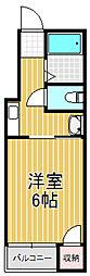 メゾンモア[4階]の間取り