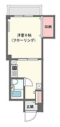 神奈川県川崎市宮前区宮崎の賃貸マンションの間取り