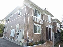 兵庫県川西市笹部3丁目の賃貸アパートの外観