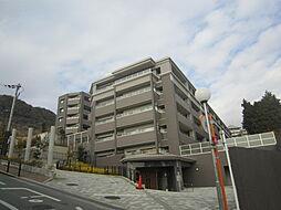 大阪府箕面市温泉町の賃貸マンションの外観