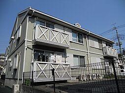 ベルシャルムB[2階]の外観