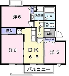 パストラル I[2階]の間取り