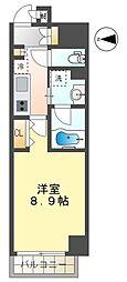 RESIDENCIA TOYOTA SAKURAMACHI 4階1Kの間取り
