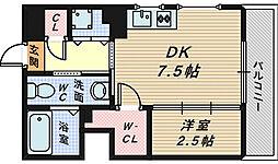 プログレス櫛屋町[2階]の間取り