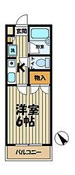 ジュネパレス鎌倉第7[306号室]の間取り