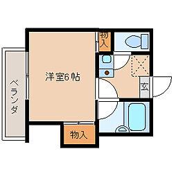 ブルーメアライ75[2階]の間取り