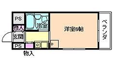 グローバル野田[3階]の間取り