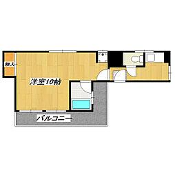 鈴木大建興業ビル[501号室]の間取り