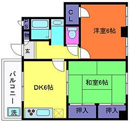 水澤ビル[2階]の間取り