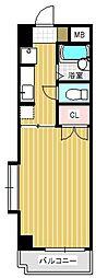 コルトンハウス[201号室]の間取り