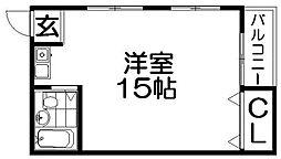 Jコーポ[3階]の間取り