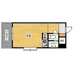 豊国スカイマンション国分[301号室]の間取り