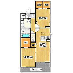 Riviere[2階]の間取り