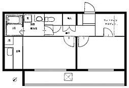 セイコーガーデン5[4階]の間取り