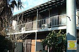 千葉県市川市国府台3丁目の賃貸アパートの外観