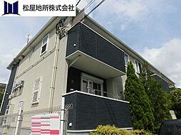 愛知県豊橋市東小鷹野3丁目の賃貸アパートの外観