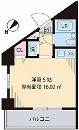 UGH桜台[609号室]の間取り