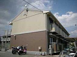 大阪府箕面市小野原東4丁目の賃貸アパートの外観
