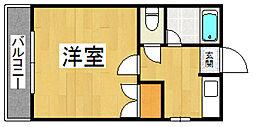 ミ・カーサ井尻[2階]の間取り