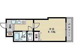ブランドールサム[3階]の間取り