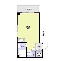 サージュヒル壱番館2階Fの間取り画像
