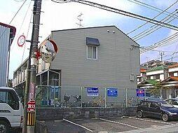 大阪府箕面市粟生外院2丁目の賃貸アパートの外観