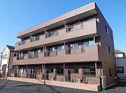 埼玉県草加市青柳2丁目の賃貸マンションの外観