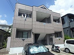 兵庫県川西市下財町の賃貸マンションの外観