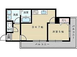 メゾン大和8号館[4階]の間取り