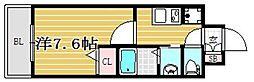 アネシスTJ[8階]の間取り
