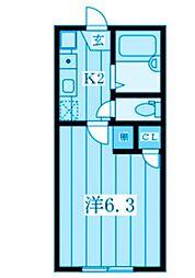 セントレジス新横浜[1階]の間取り