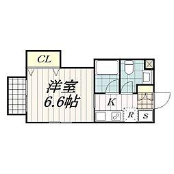 ホートマクハリ[1階]の間取り
