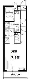 リブリ・セリシール[2階]の間取り