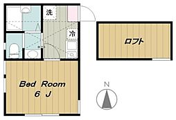 メゾンエレンデール[2階]の間取り