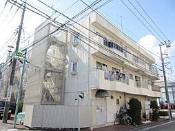 神奈川県横浜市青葉区あざみ野2丁目の賃貸マンションの外観