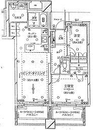 ピアース東京インプレイス[12階]の間取り