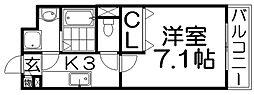 グレースメゾン[3階]の間取り