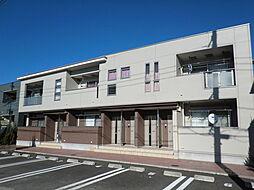 埼玉県川口市大字安行原の賃貸アパートの外観