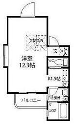 シエークル21[4階]の間取り