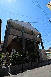 大阪府東大阪市荒川3丁目の賃貸アパートの外観